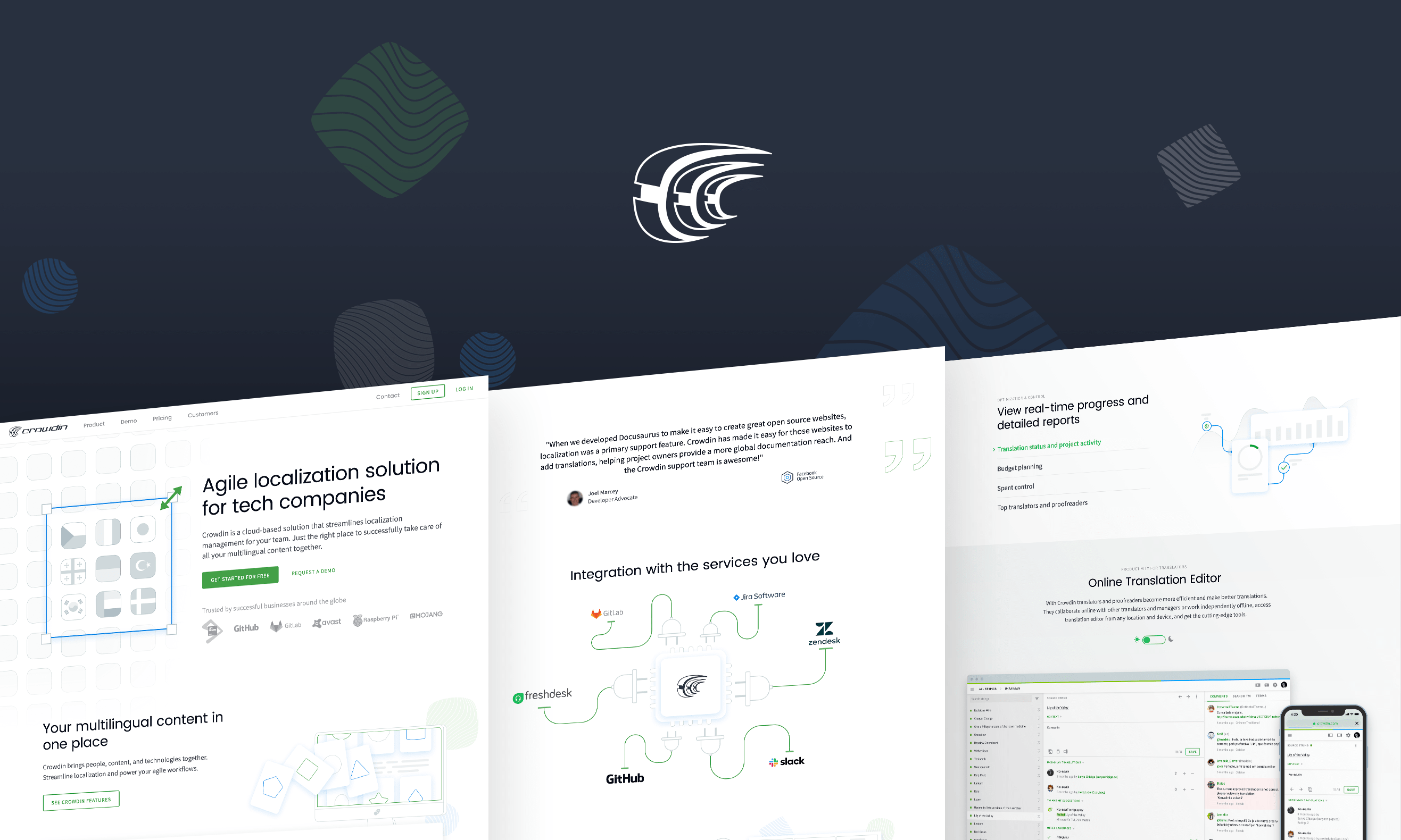 crowdin new website
